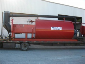 Asphalt heater from American Heating Company