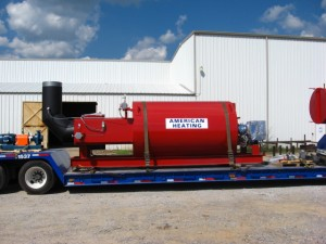 industrial hot oil heaters from american heating company