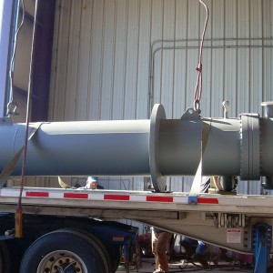 AHC suction heater preparing for delivery
