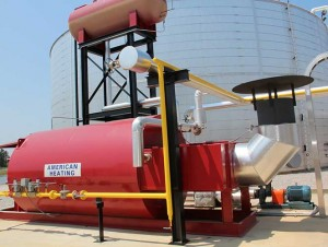 Industrial Thermal Fluid Hot Oil Heater from American Heating Co
