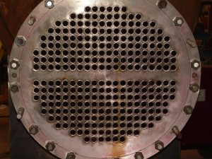 close up image of industrial heating equipment