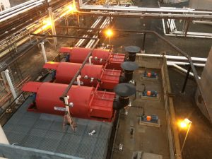 Installed thermal fluid heaters from American Heating Company