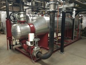Industrial steam generator from American Heating Company