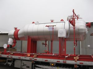 Steam generator manufactured by American Heating Company