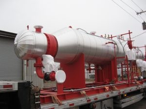 Steam generator designed by American Heating Company