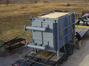 waste heat economizer manufactured by American Heating Company shipping to Canada